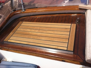 Boat door restoration